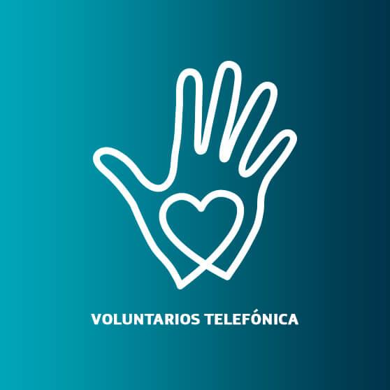 propuesta logo voluntarios telefonica