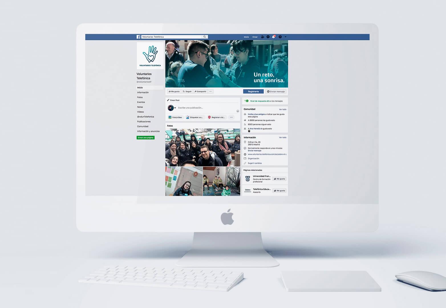 demo facebook voluntarios telefonica