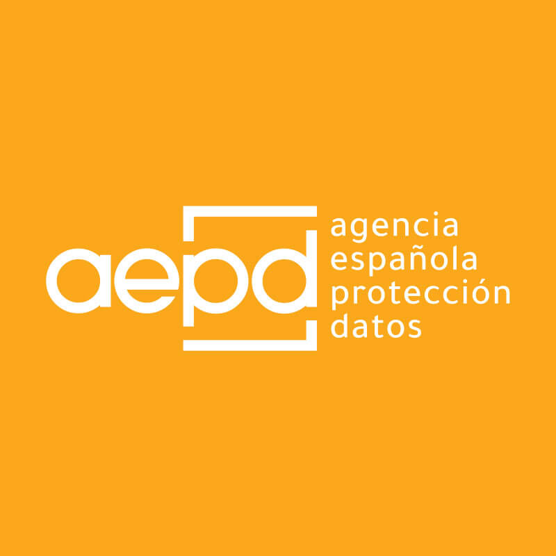 aepd logo orange background