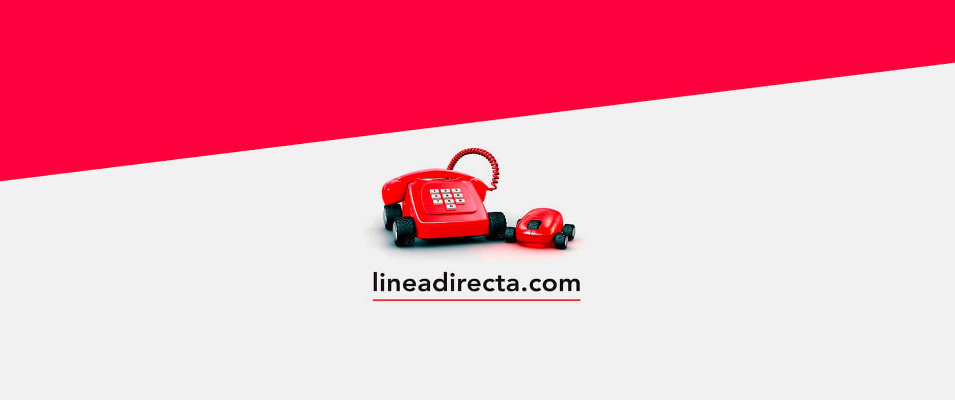 Banner con el logo de Línea Directa