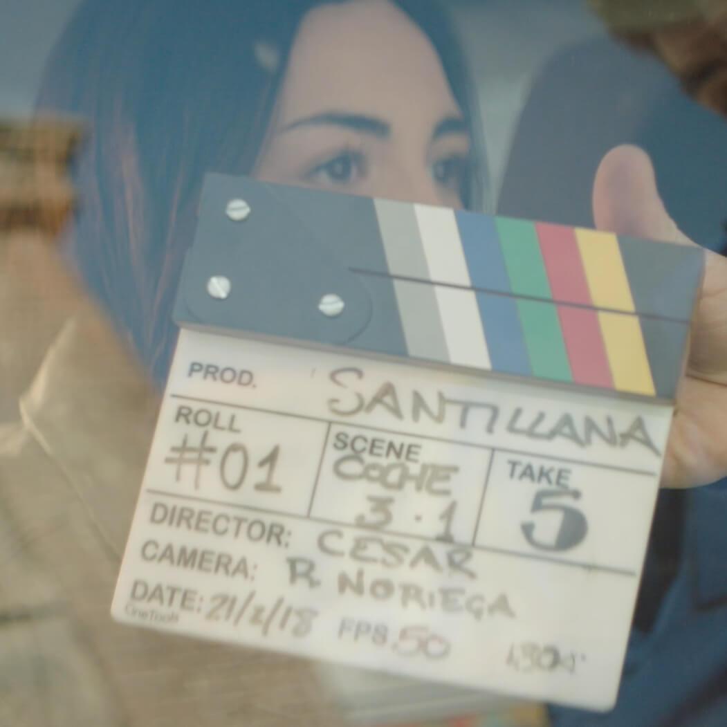 making of santillana fotogram