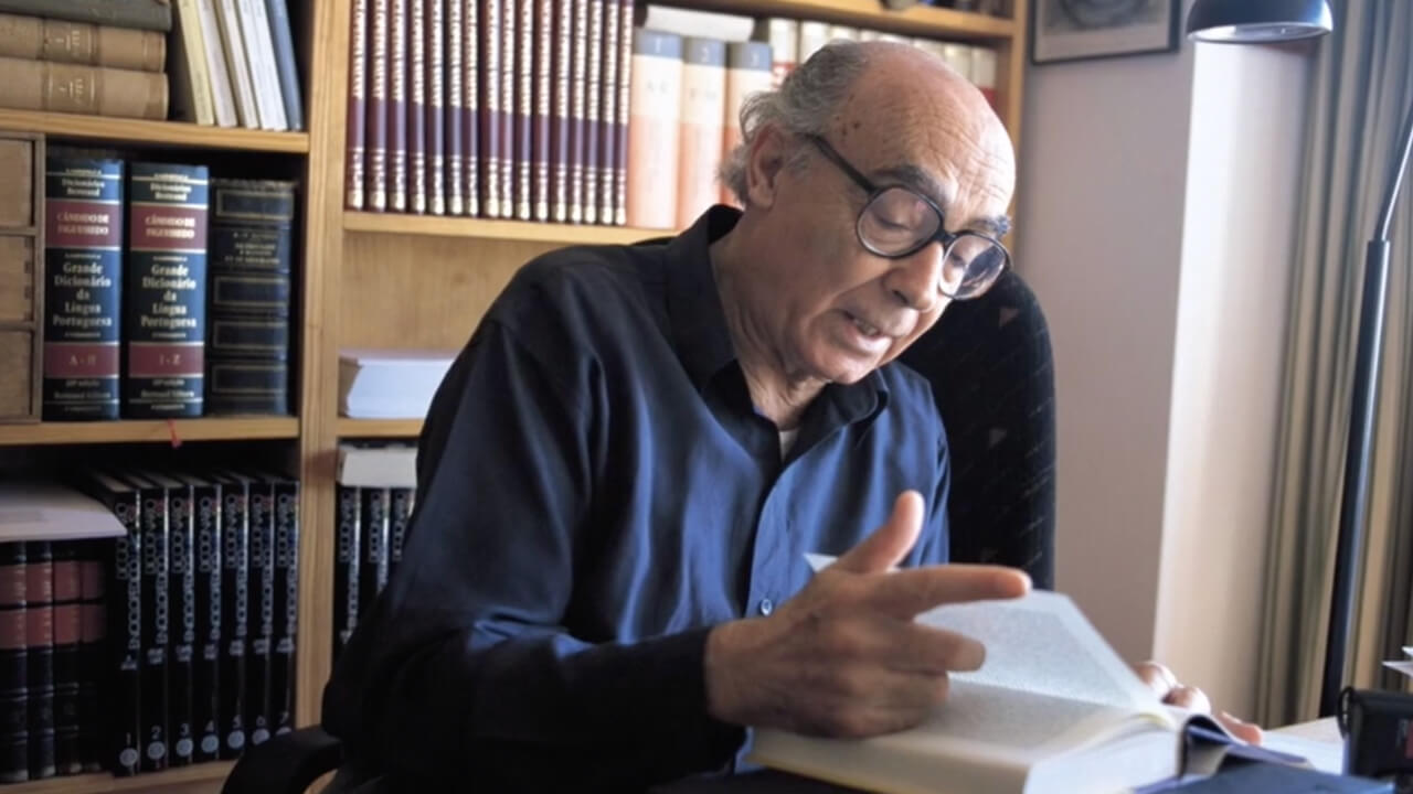 fotograma video jose saramago