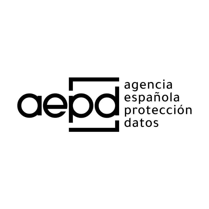 Logo aepd con fondo blanco