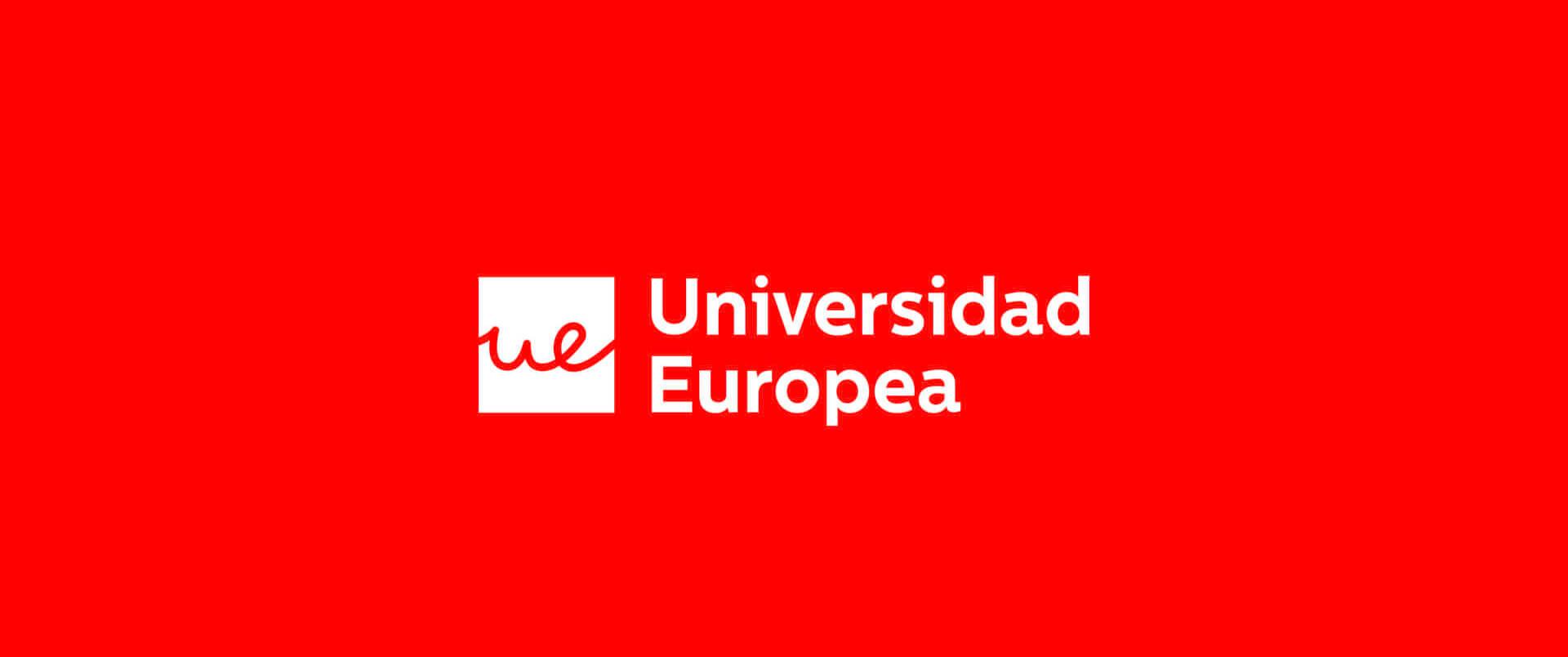 Banner con el logo de la Universidad Europea
